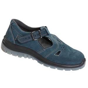 Sandały bezpieczne damskie z metalowym podnoskiem 251W PPO