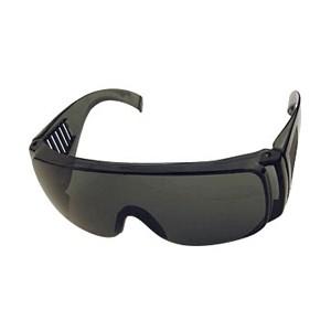 Okulary przeciwodpryskowe z poliwęglanu Seculare Dark 1033