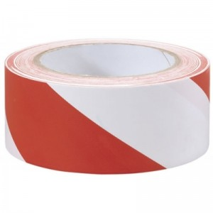 Taśma odgrodzeniowa 200 m biało-czerwona