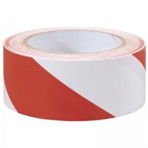 Taśma odgrodzeniowa 100 m biało-czerwona