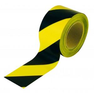 Taśma odgrodzeniowa 200 m żółto - czarna