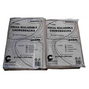 Folia malarska 4x5m - Standard Plus 330gram/szt
