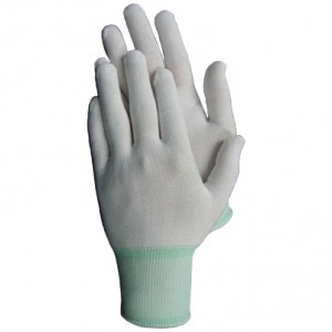 Rękawice dzianinowe R111 białe ( 12 par)