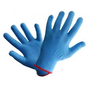 Rękawice dzianinowe R111 niebieskie ( 12 par )