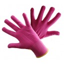 Rękawice dzianinowe R111 różowe ( 12 par)