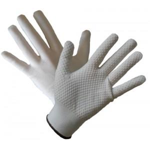 Rękawice z nakropieniem z PCV R114 ( 12 par)