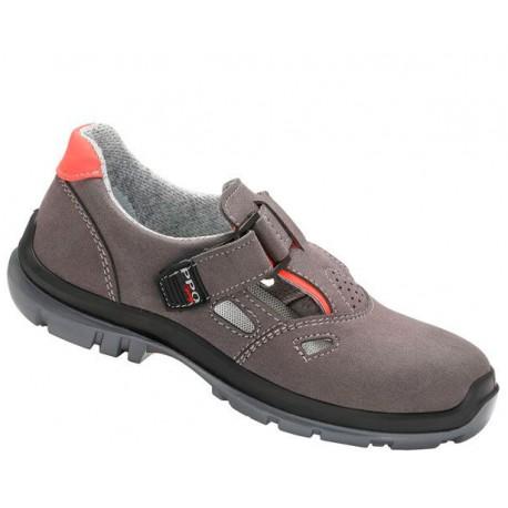 Sandały bezpieczne z podnoskiem kompozytowym i niemetalową wkładką antyprzebiciową 551PPO