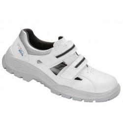 Sandały bezpieczne białe z metalowym podnoskiem 201 PPO